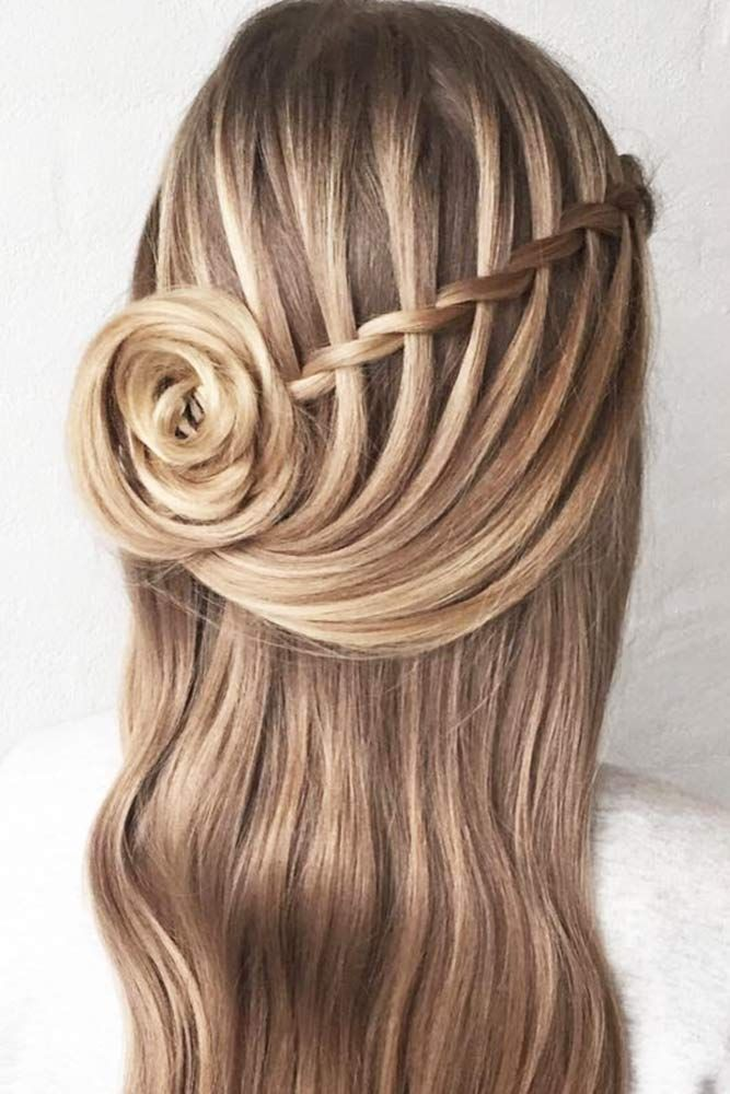 Learn How To Do A Waterfall Braid Lovehairstyles Com Hair Styles Long Hair Styles Braided Hairstyles