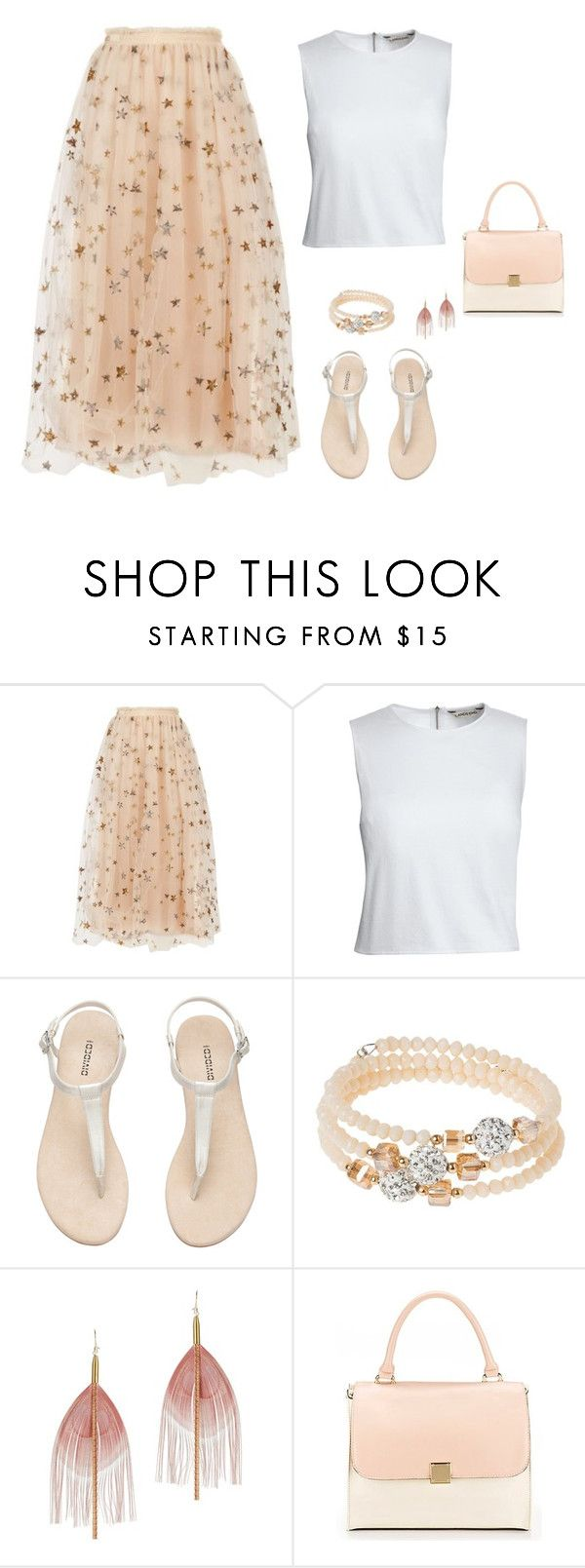 """""""set4"""" by maryam91-467 ❤ liked on Polyvore featuring Valentino, Canvas by Lands' End, H&M, sweet deluxe and Serefina"""