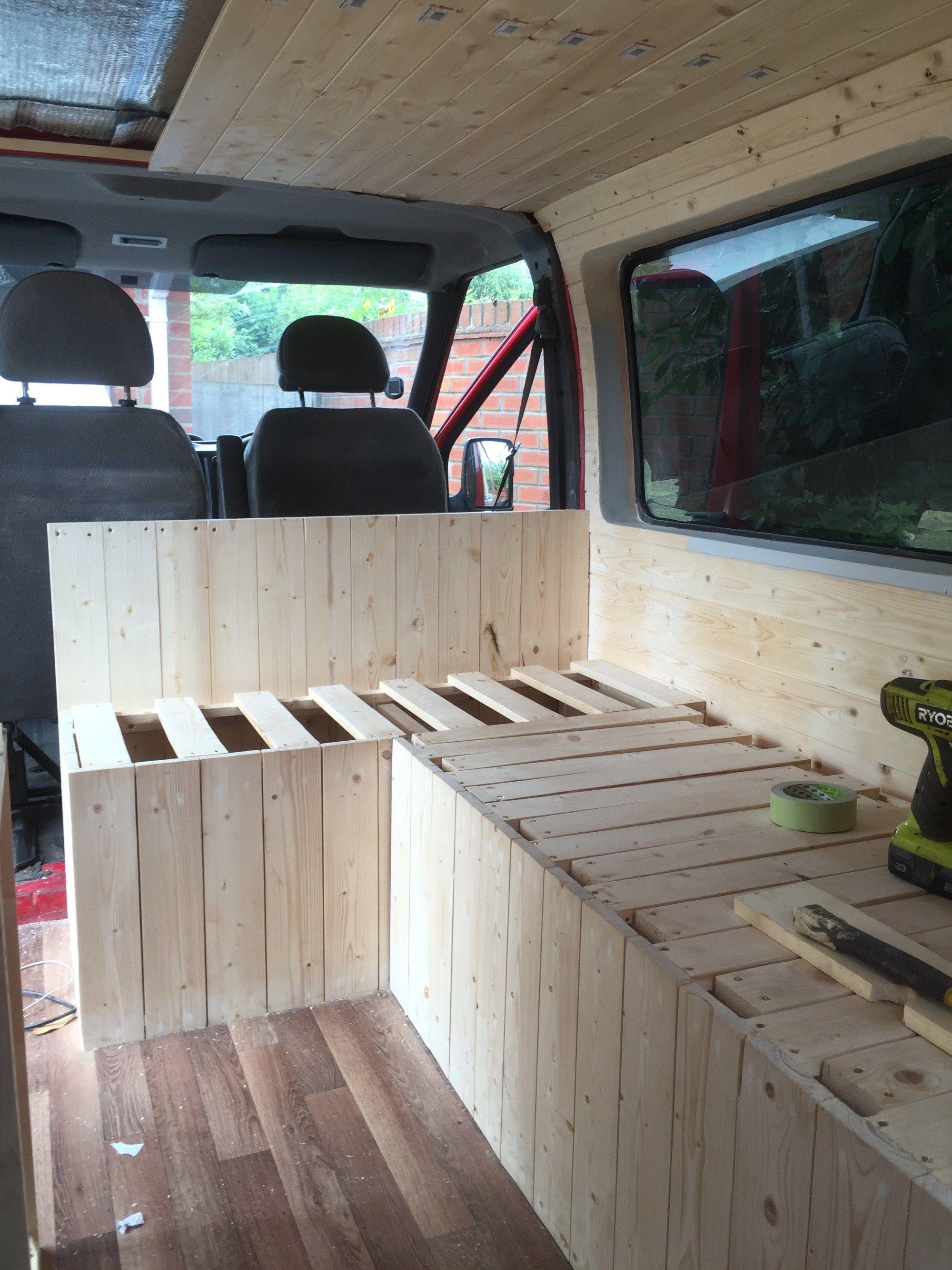 My Van Conversion Sofa Bed Diy