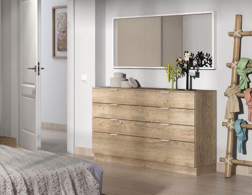 Cómoda Nuit Ropero Pinterest Cómodas, Dormitorio y Recamara - recamaras de madera modernas