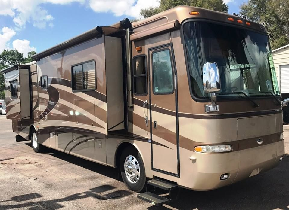 2006 Monaco Diplomat 40ft With 4 Slides Travel Trailers For