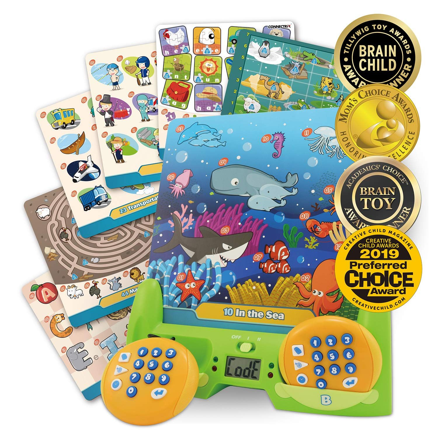 Best learning connectrix junior memory matching game for
