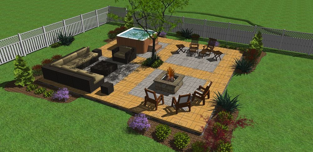 Lots Of Possibilities With Udecx Patio Decking Products