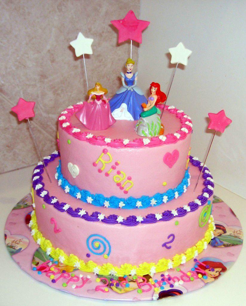 Easy Disney Princess Birthday Cakes Kids Birthday Cakes