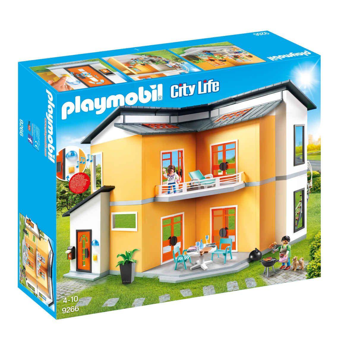 Playmobil Modernes Wohnhaus 9266 Playmobil Haus Playmobil Modernes Haus