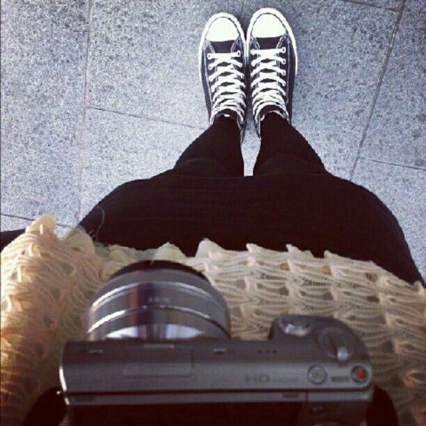 Comfy kicks + NEX camera