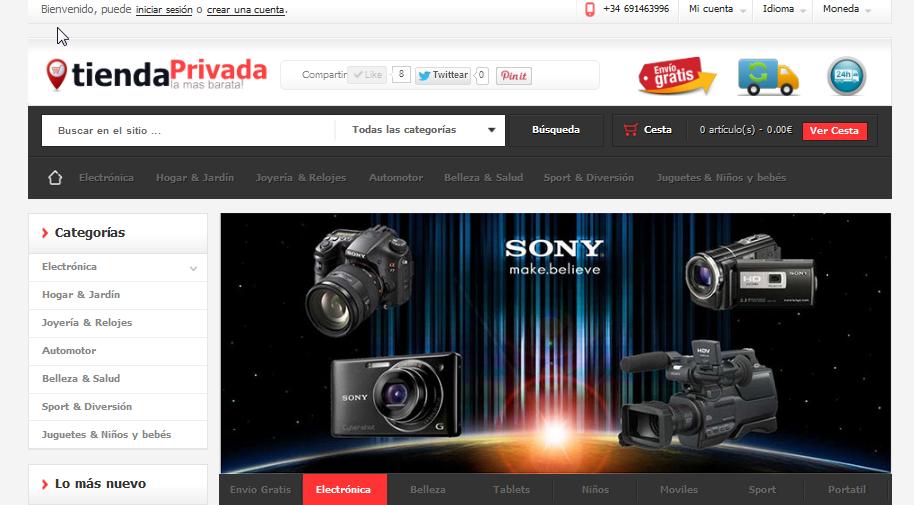 TiendaPrivada.com,electronica de segunda mano,moviles,ordenadores,portatiles .....,Marbella 29601 Calle Los Naranjos 6,movil 695564383