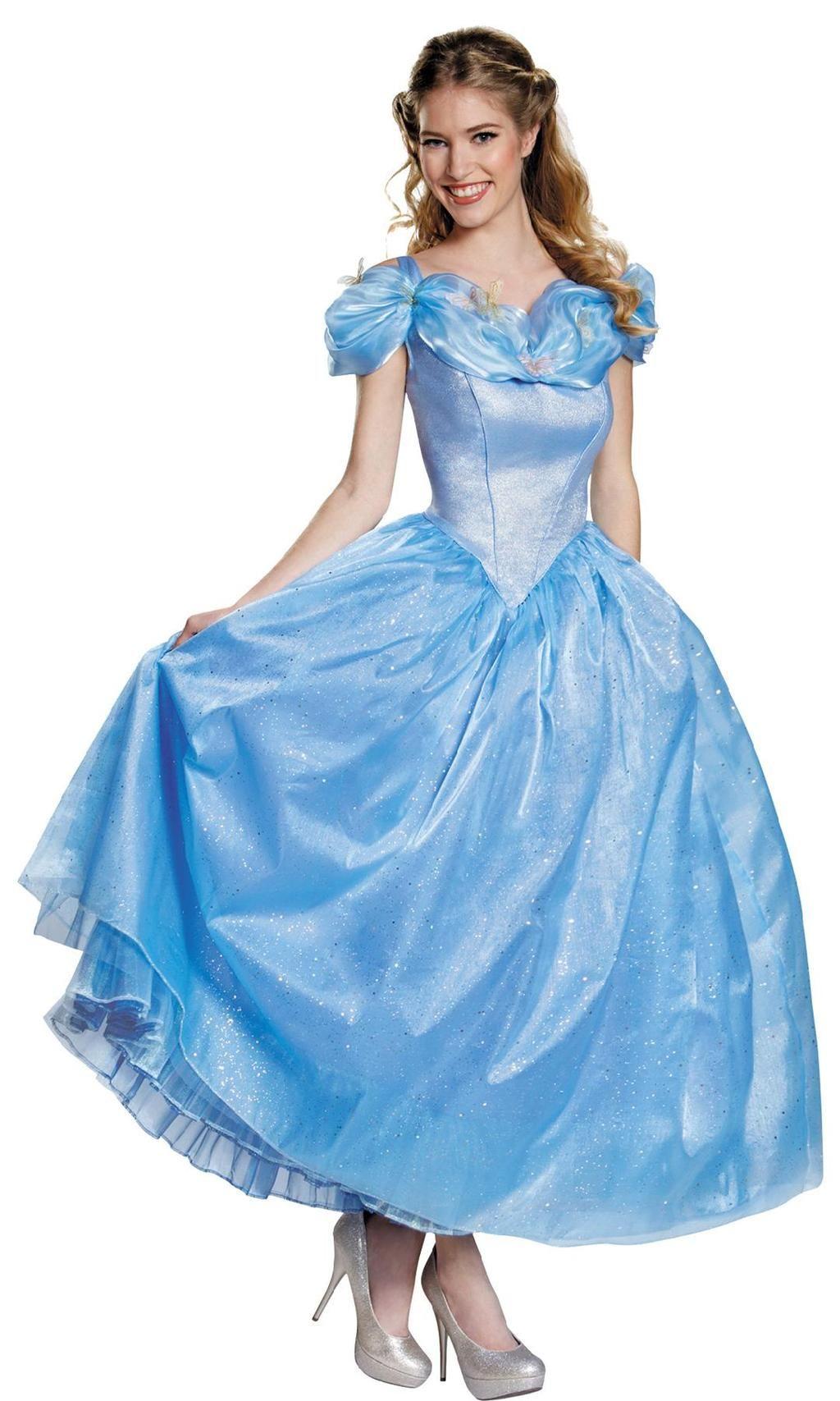 Cinderella Movie Deluxe Costume Costumes for women