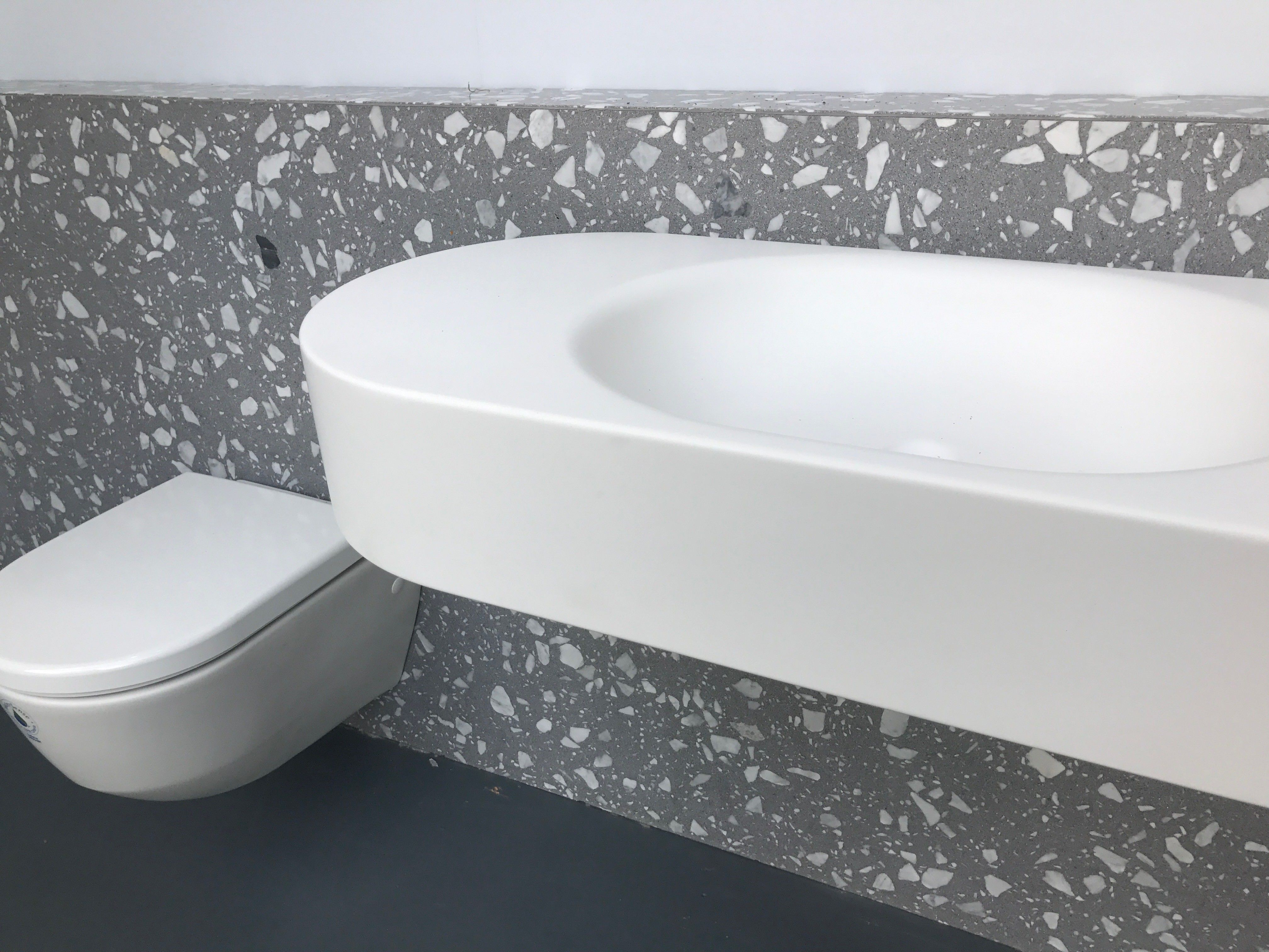 Coveringsetc introduces venetian terrazzo torcello grey g tile torcello grey g coveringsetc is your go to innovative source for natural recyclable and sustainable material concepts for hard surfaces dailygadgetfo Image collections