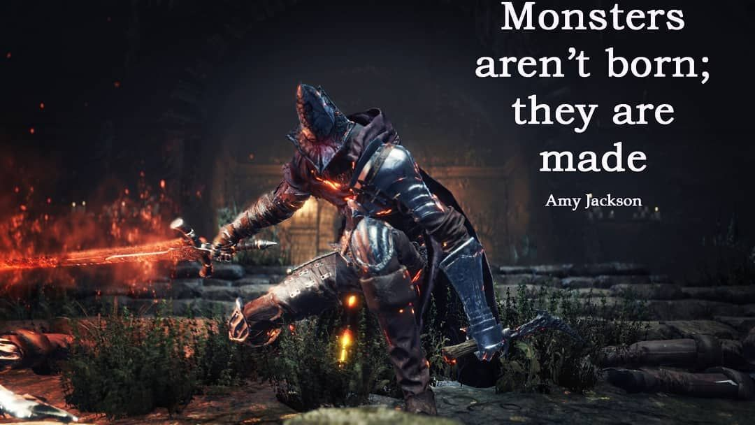 quotes #quotesoftheday #sayings #wisdom #wisdomquote #mantras  #quotesandsayings #qotd #qotd #darksouls3 #darksouls… | Monster quotes,  Survivor quotes, Abuse quotes