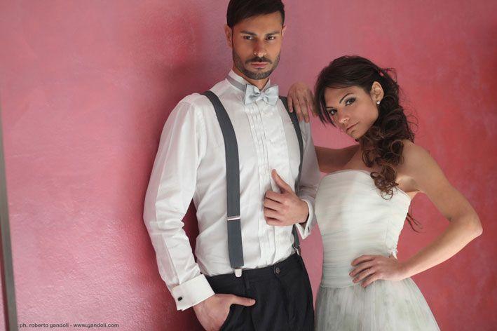 Veronica e Emanuele  shooting @ La Nuova Sartoria-Milano