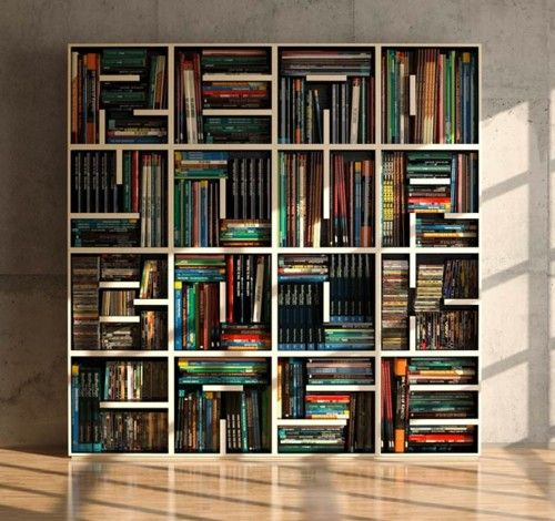 Brings New Meaning To Literally It Read Your Bookcase