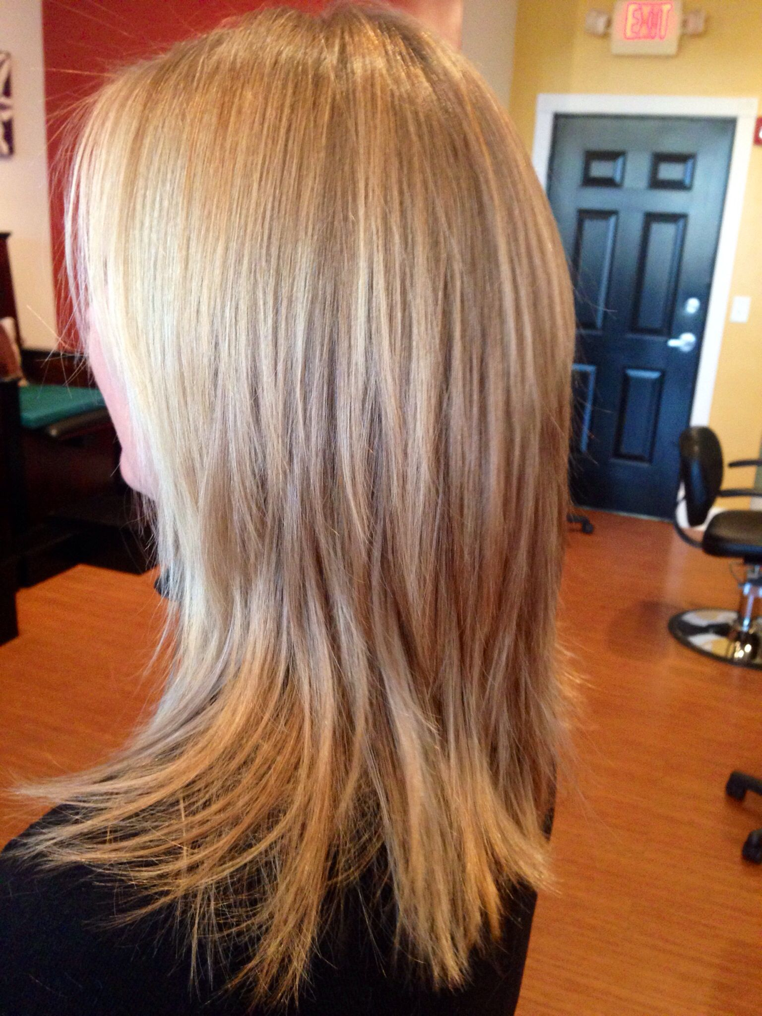 Cut color | hair styles and color | Pinterest | Hair style, Long ...