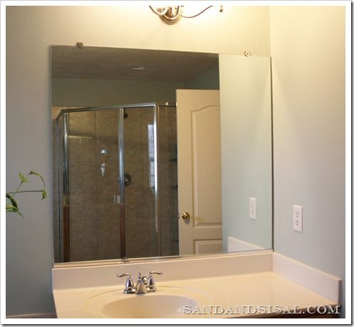 How to Frame a Mirror Frame mirrors, House and Decorating