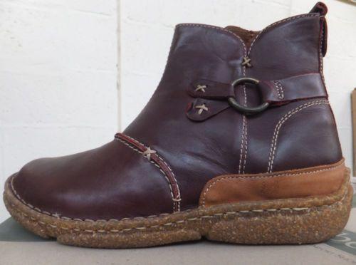 Women's Josef Seibel Nadine Leather Ankle Boots EU37 RRP £75