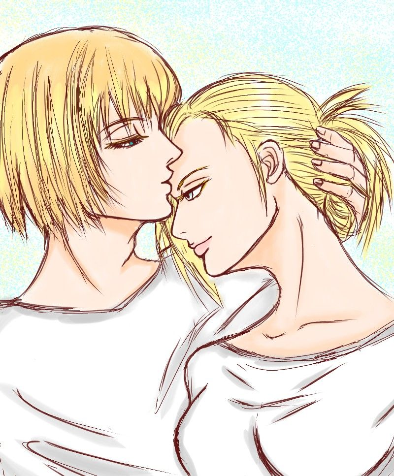 Aruani 敏妮 Armin Annie Attack On Titan Armin Armin Snk Attack On Titan