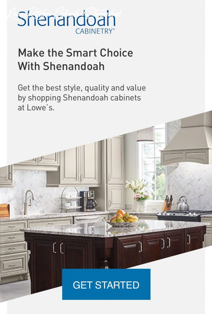 Lowes Kitchen Cabinets Shenandoah in 2020 | Replacement ...