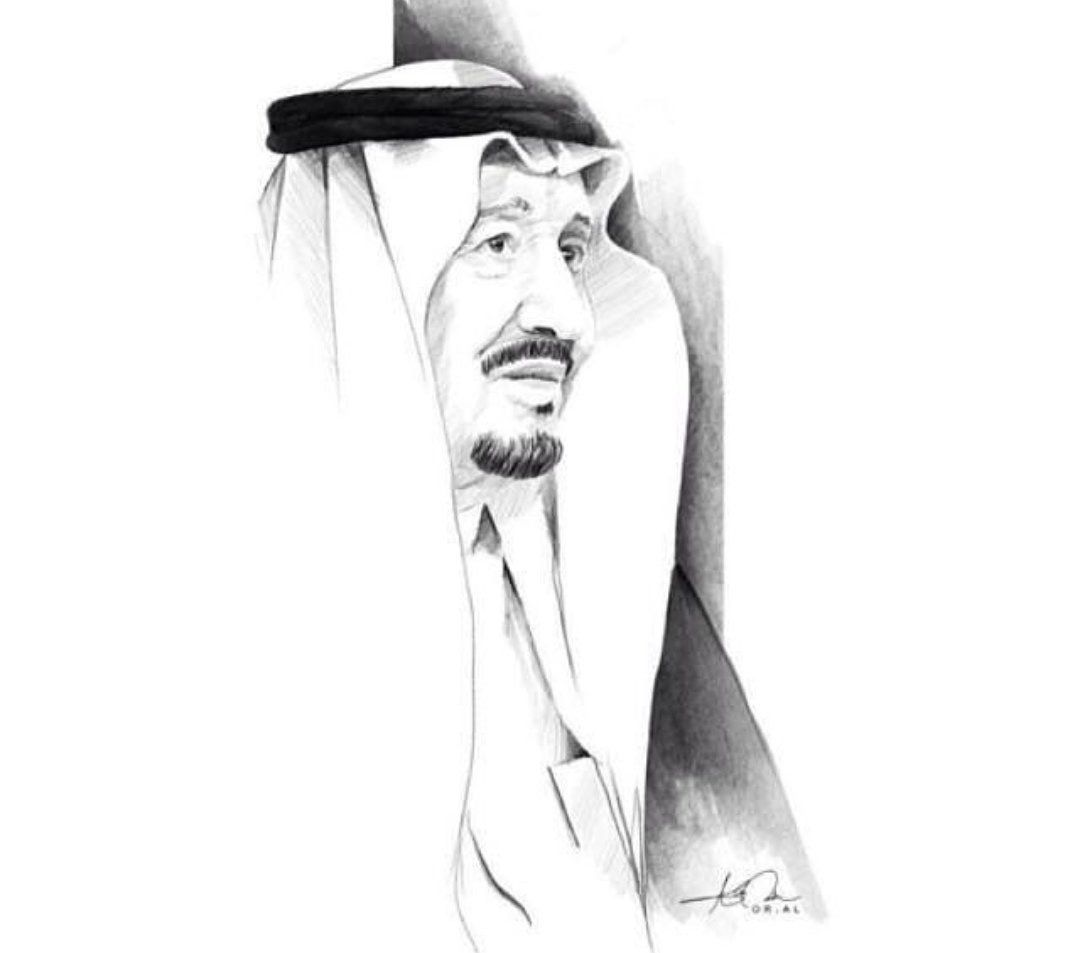 Pin By Tahani Alghimlas On دام عزك ياوطن Art Portrait Drawing Dark Photography