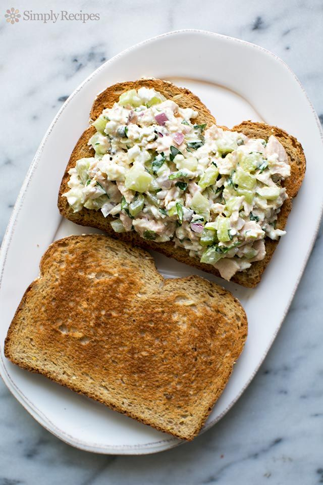 Best ever tuna salad sandwich uses tuna canned or for Tuna and egg sandwich