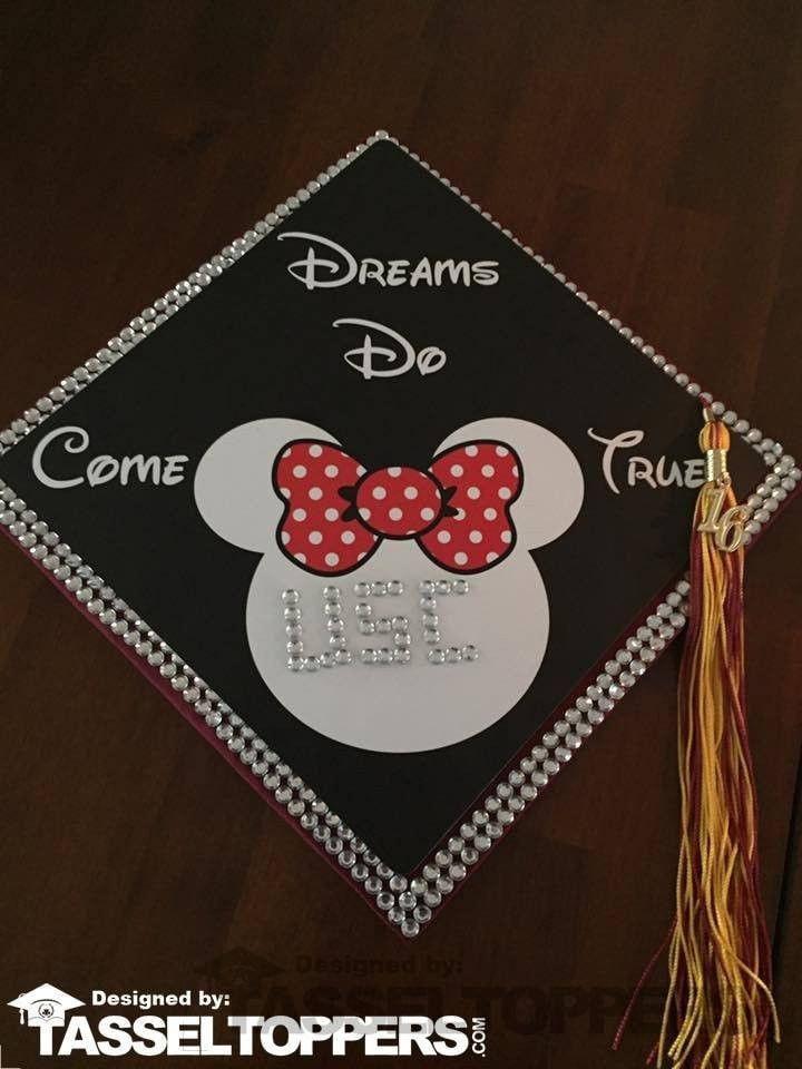 Minnie Mouse Grad Cap Tassel Topper
