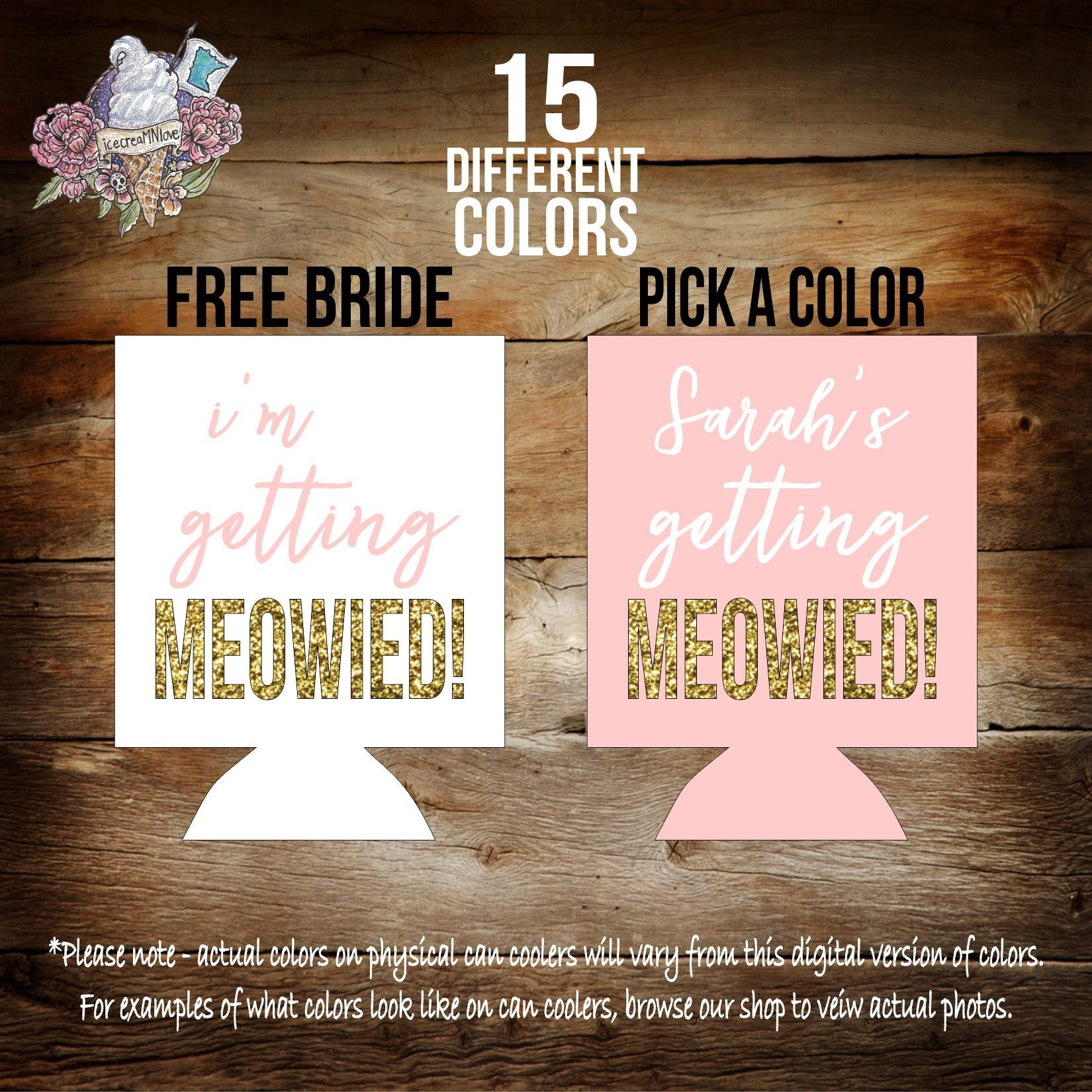 im getting meowied cat whiskers bachelorette party favors