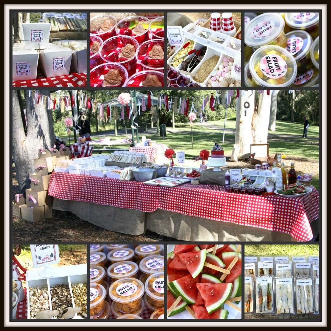 Ah-Tissue: Picnic In The Park For Tahlin's 4th Birthday
