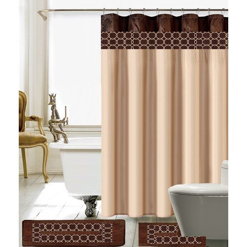 Found It At Wayfair Charlton Shower Curtain Set Shower Curtain