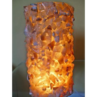 Hand-crafted Egyptian Alabaster Glitter Lamp (Egypt) | Rock Ideas ...
