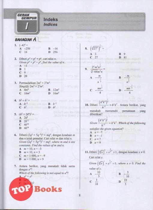 Jawapan Gerak Gempur Pt 3 Matematik Tingkatan 2 - F44mo4ow