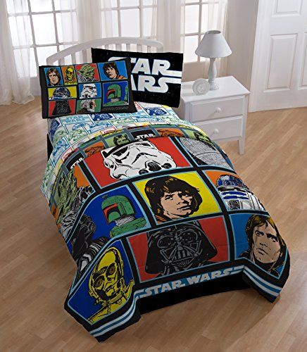 Original Trilogy Star Wars Bedset Includes Twin Comforter And Twin