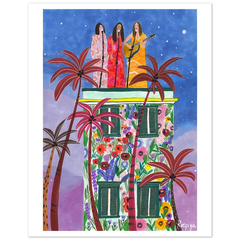 Art Print by Roeqiya Fris now available at Jungalow®