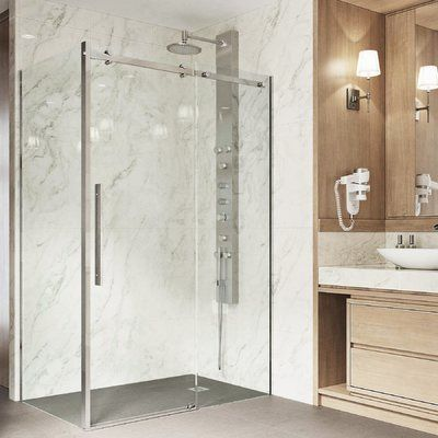 Vigo Alameda 32 Quot X 74 Quot Rectangle Sliding Shower Enclosure