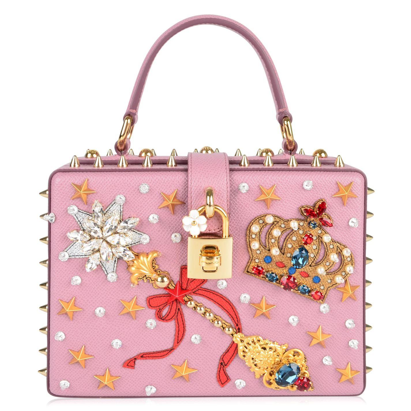 29b62603b8c ... Dolce and Gabbana St Dauphine Patch Box Bag finest selection da453  87101 ...