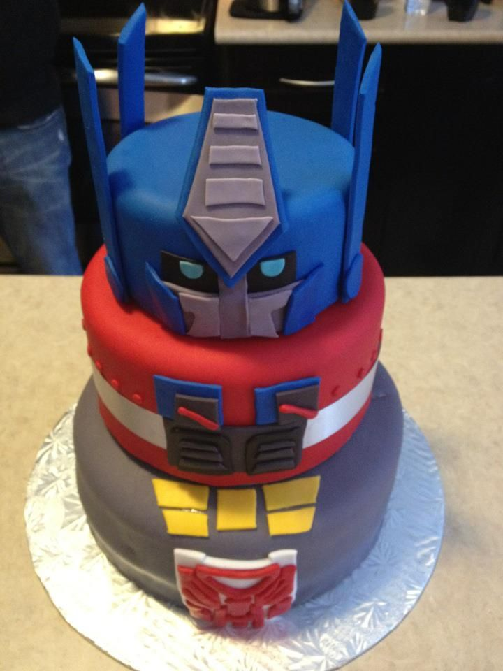 transformer cake ideas transformer cake steph amos check this one out 8051