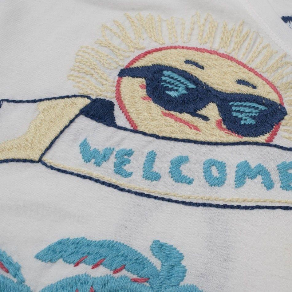 Welcome to the Sunlight White T-Shirt - Paul & Joe Sister