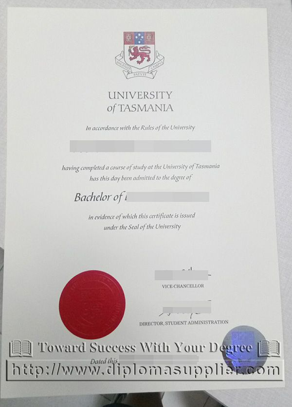 University of Tasmania degree, University of Tasmania diploma, buy - fake divorce certificate