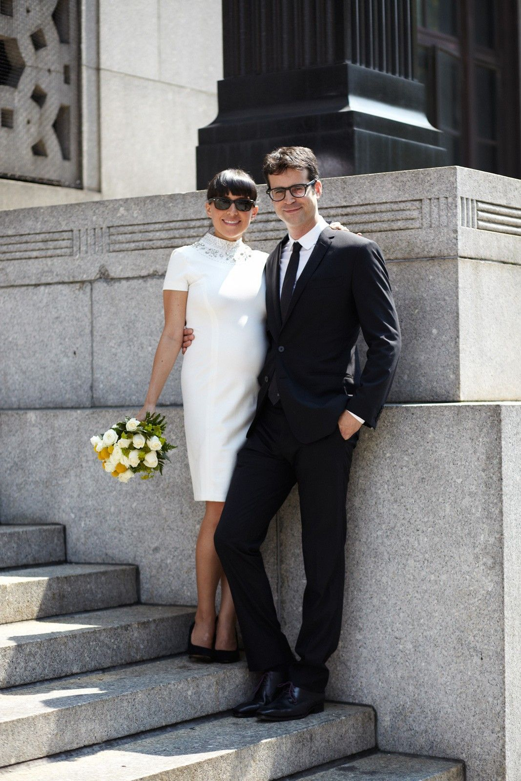 These City Hall Brides Nailed It City Hall Wedding Dress Nyc City Hall Wedding City Hall Wedding,Sea Green Color Combination Dresses Pakistani