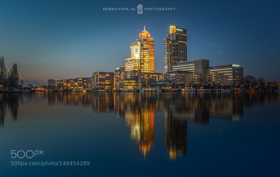 Rembrandt Tower Amsterdam by RemkoVonk