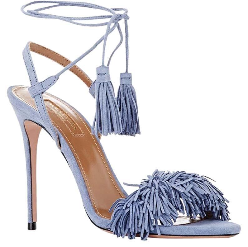 Sandals WILD THING with Fringes Spring/summerAquazzura tzlOB6U