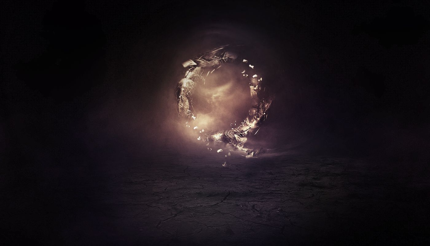 Create an abstract floating break apart rock circle in photoshop create an abstract floating break apart rock circle in photoshop baditri Images