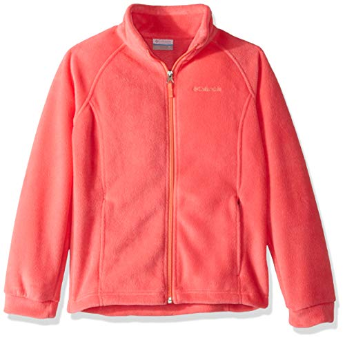 X-Small Red Lily Columbia Girls Little Benton Springs Fleece Jacket
