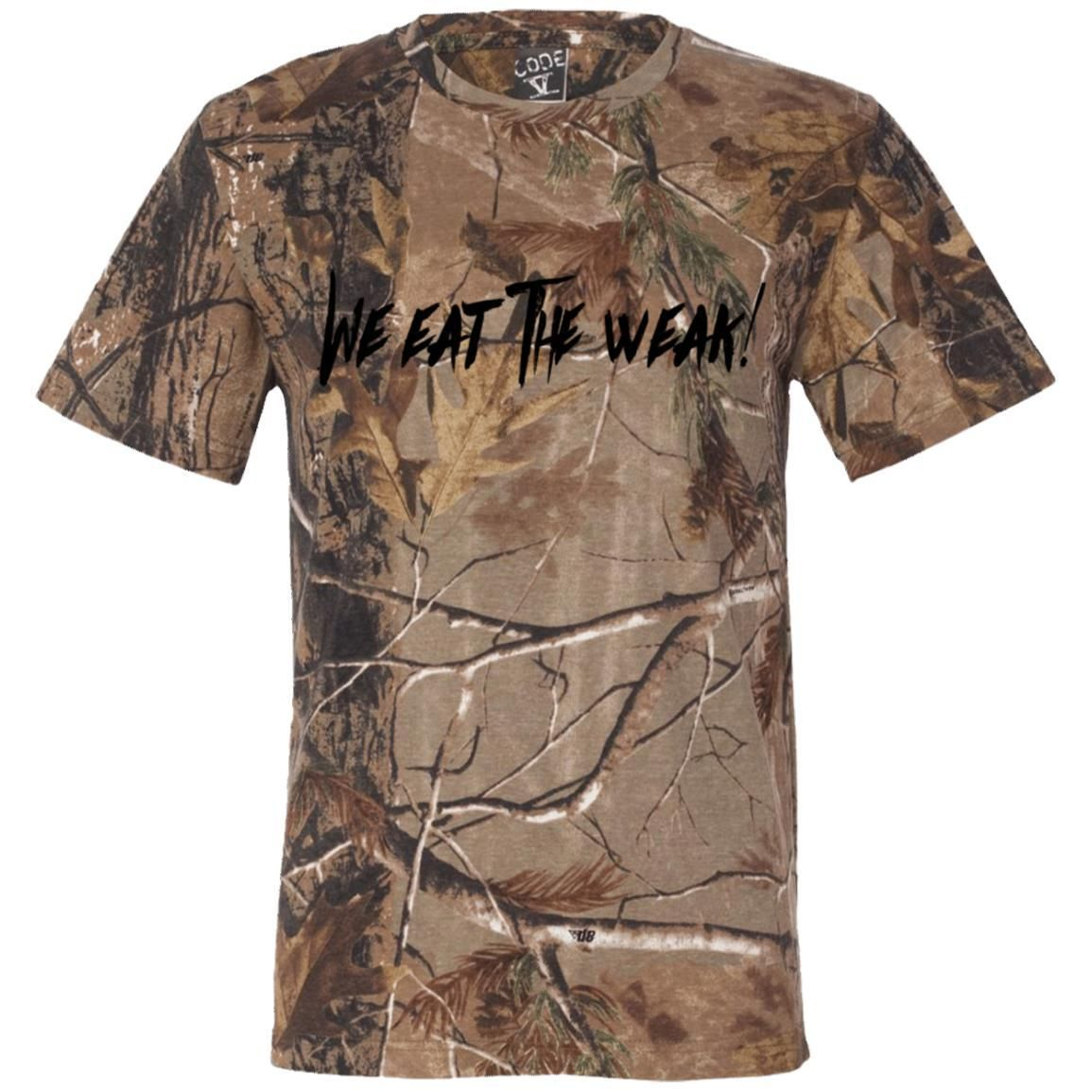 d1e6b58c7 We Eat The Weak Men's Camouflage Tee | Products | Camouflage t ...