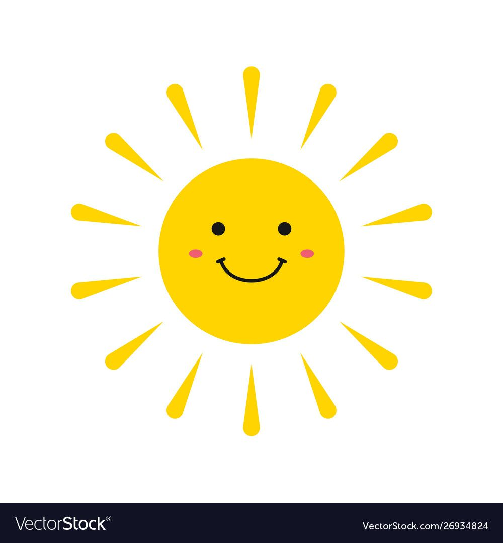 Cute Smiling Suns Smile Sun Emoji Summer Sun Vector Illustration Download A Free Preview Or High Quality Adobe Illustrator Sun Emoji Smiling Sun Happy Sun