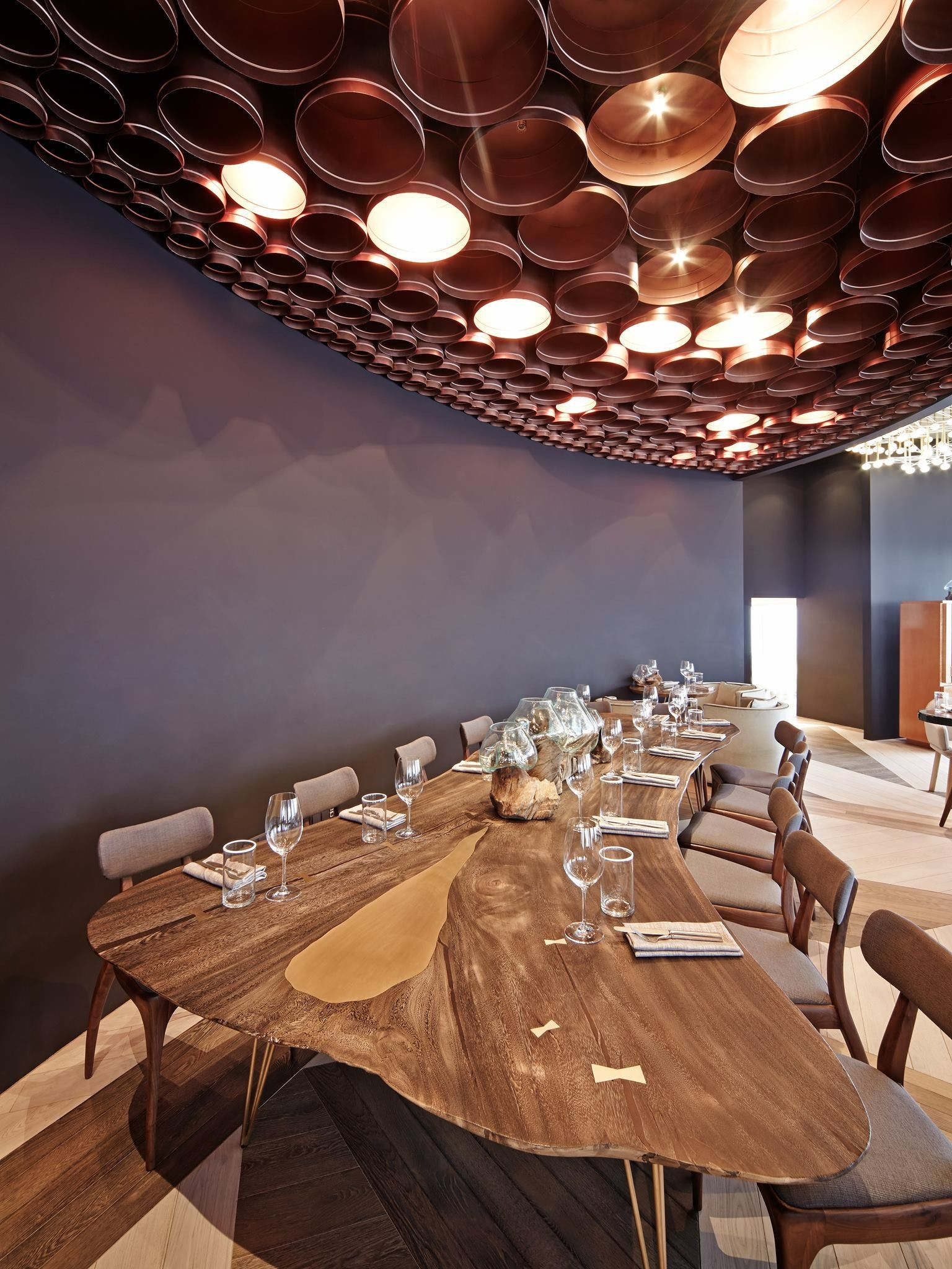 Restaurant Ruski Russia Moscow By Megre interiors