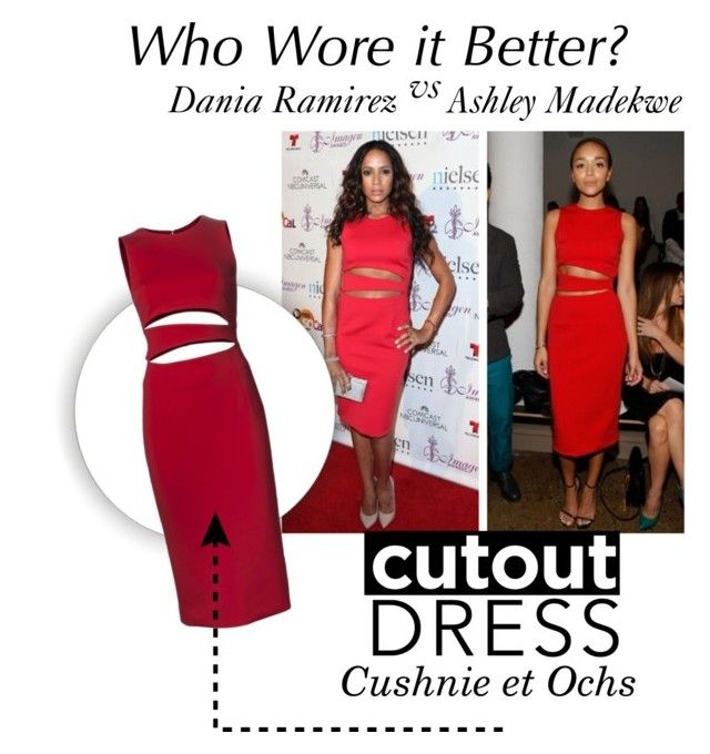 """""""Who wore it better?"""" by danielle-broekhuizen ❤ liked on Polyvore featuring Cushnie Et Ochs"""