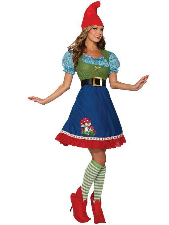 Womens Flora The Gnome Costume #Sponsored #gnomecostume