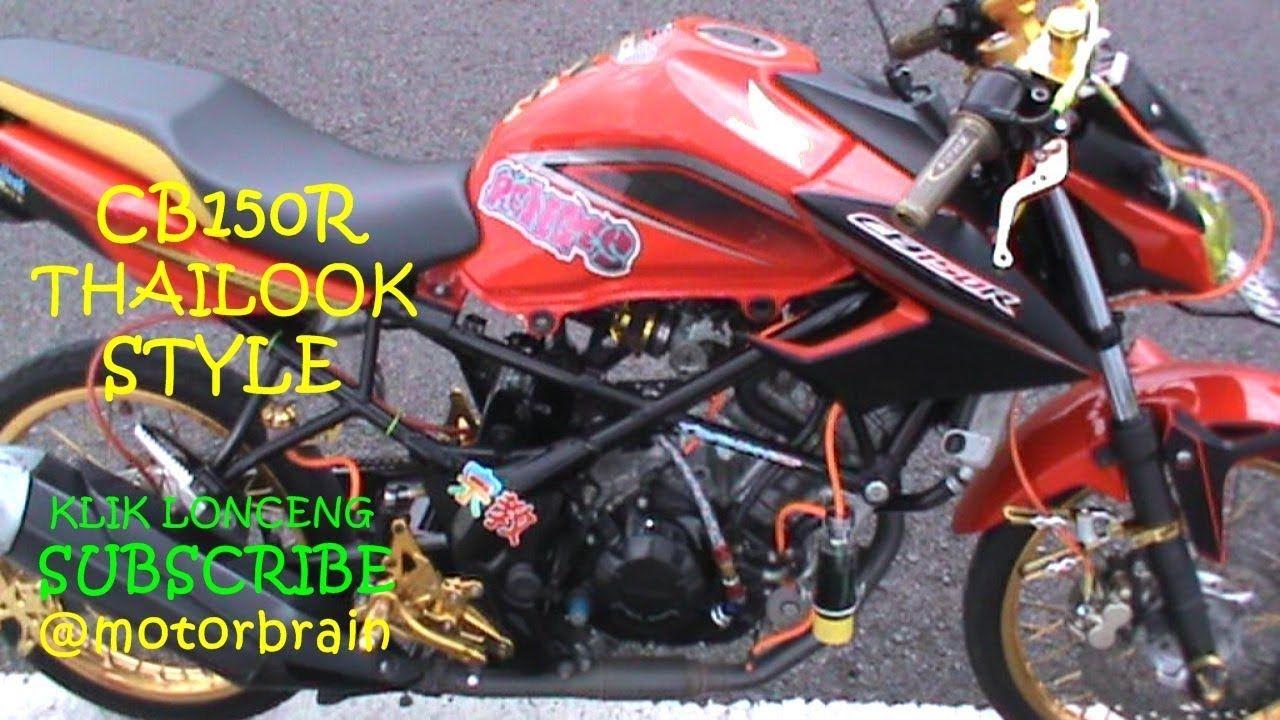 Thailook Modifikasi Cb150r Pelek Jari Jari Motor Sport Motor Motor Mobil