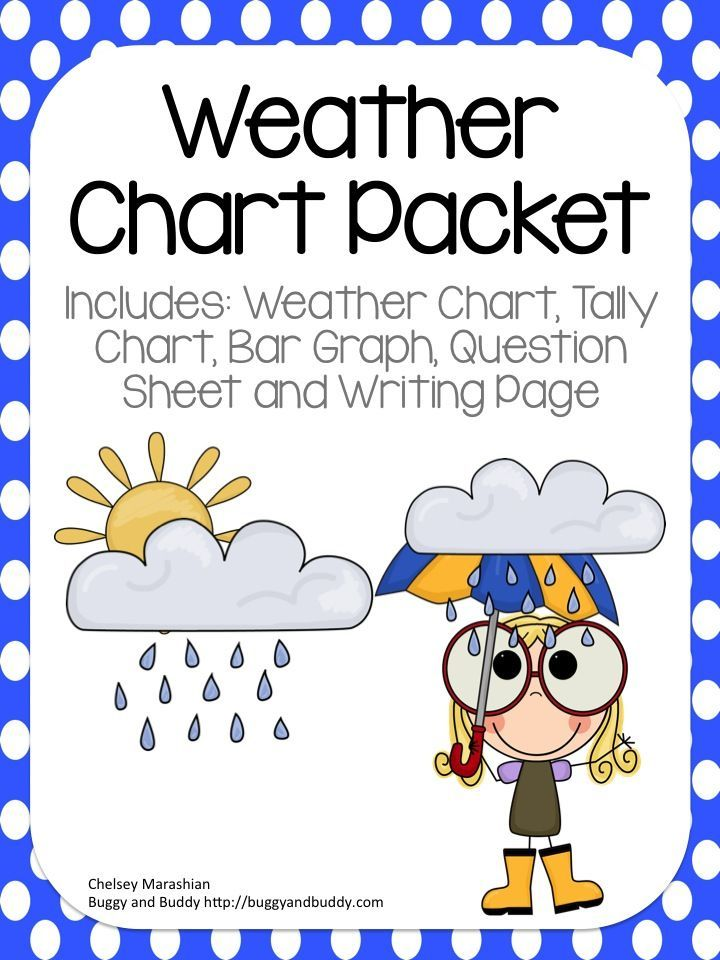 Weather Chart Packet With Graphs And Writing  Bar Graphs Prompts