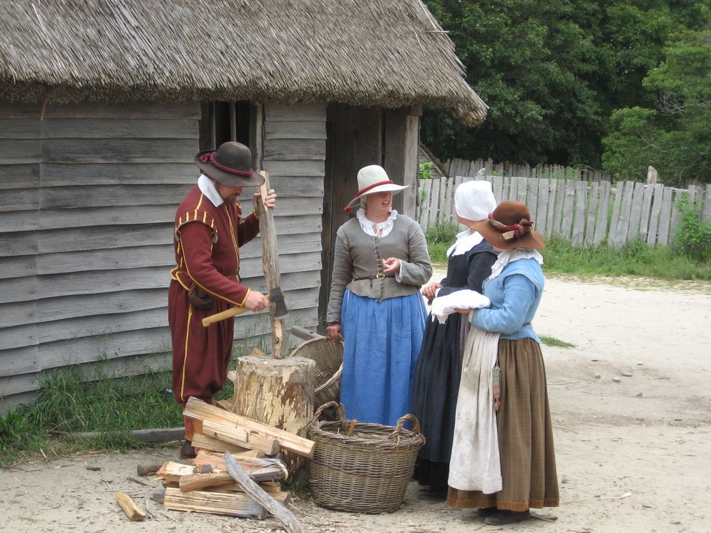 Plimoth Plantation in Plymouth Plantation, Massachusetts