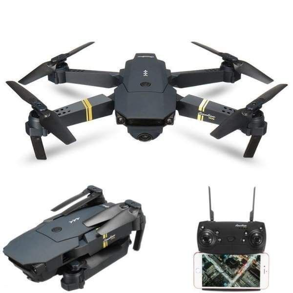 Toys & Hobbies Drone X Pro 2.4g Selfi Wifi Fpv 1080p Camera Foldable Rc Quadcopter 4*batteries